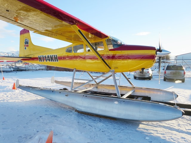 1983 Cessna A185F on Floats