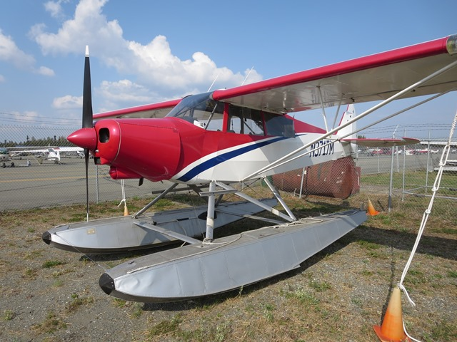 1947 PA-12 Float Plane with PA-18 Mods and O-320